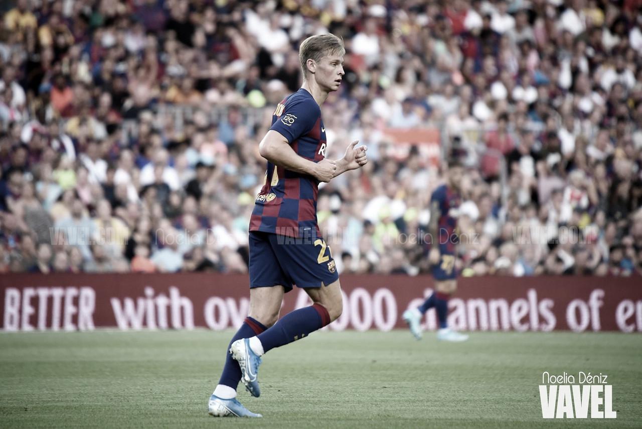 Resumen de los internacionales del FC Barcelona