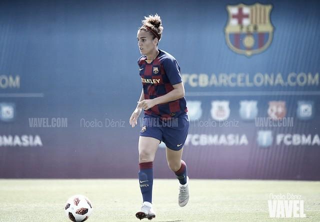 Melanie Serrano, culé hasta 2021