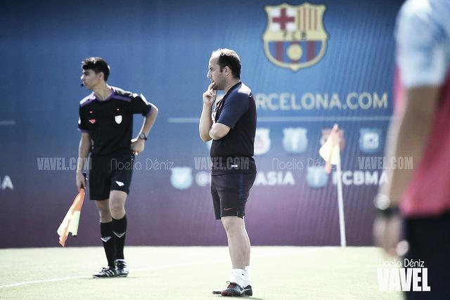 """Lluís Cortés: """"Veo al equipo muy bien"""""""