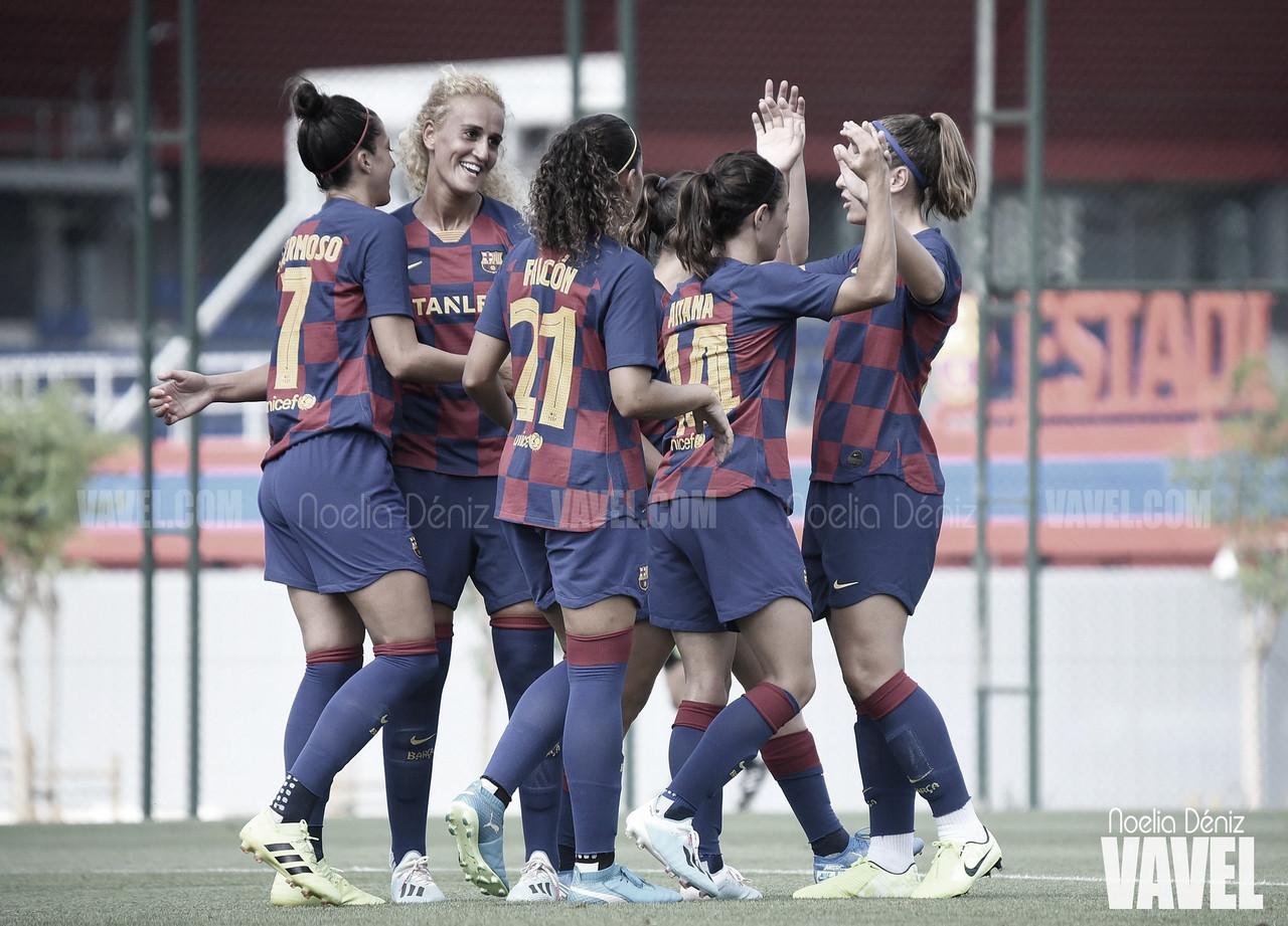 El FC Barcelona humilló al que será el Real Madrid femenino