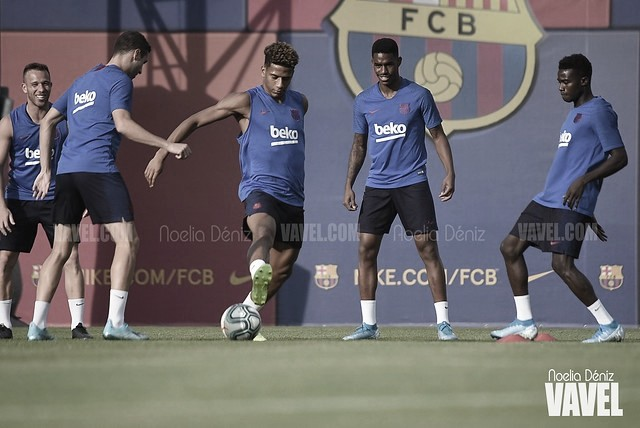 Junior Firpo vuelve a entrenarse con el grupo