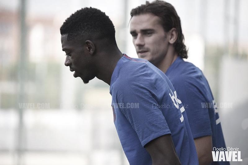 Dembelé y Araujo están listos para la Champions