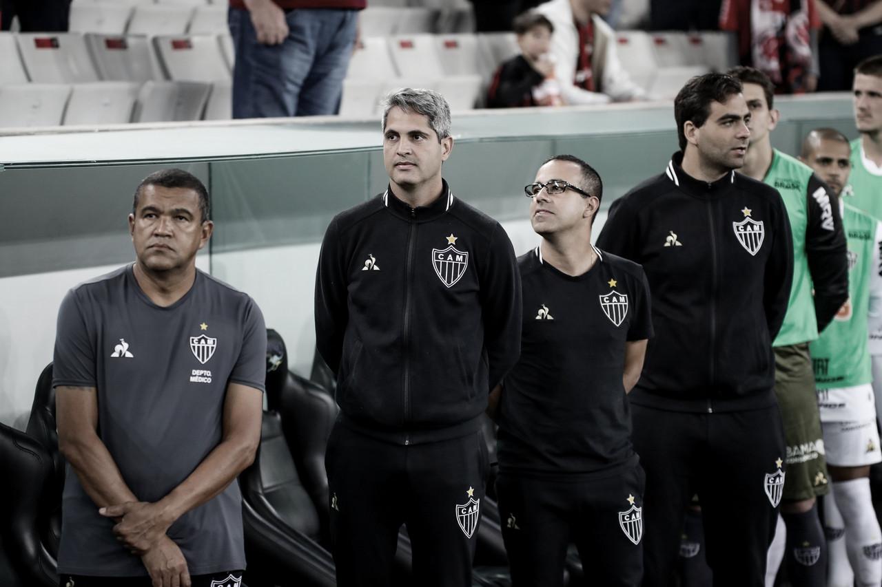 Satisfeito com atuação do Galo, Rodrigo Santana considera derrota para Athletico injusta