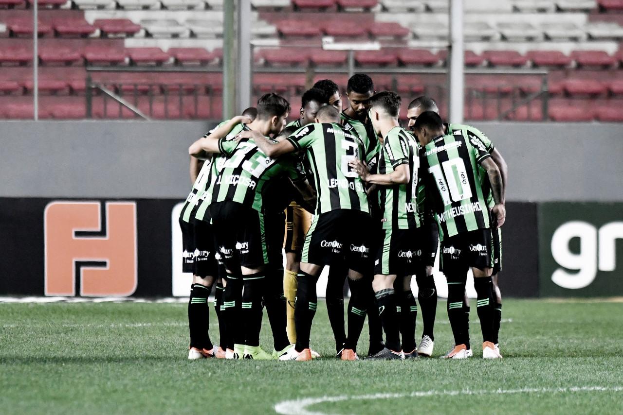 Invicto há cinco jogos, América-MG recebe Guarani pela Série B