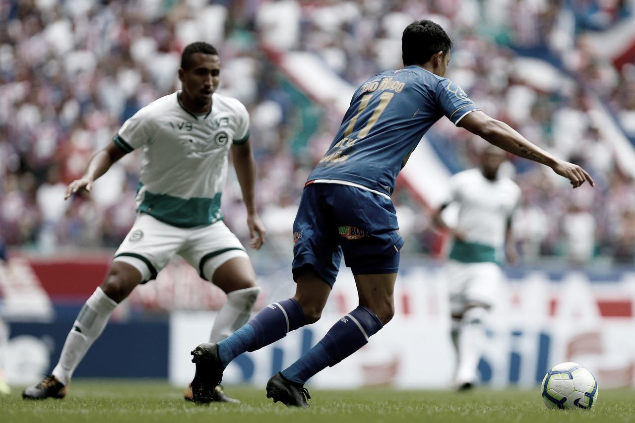 Sonhando com a Libertadores, Goiás e Bahia se enfrentam no Serra Dourada
