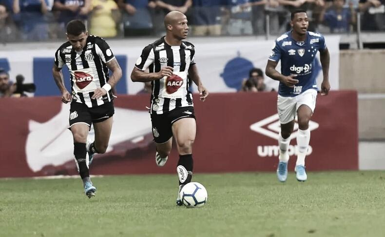 Resultado e gols para Santos 4x1 Cruzeiro pelo Campeonato Brasileiro