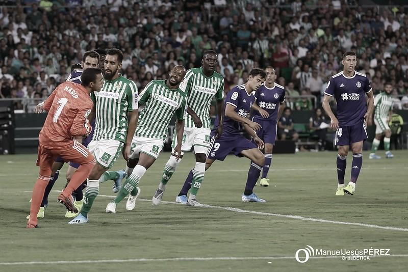 Posible adelanto de hora para el Valladolid - Real Betis de la jornada 38