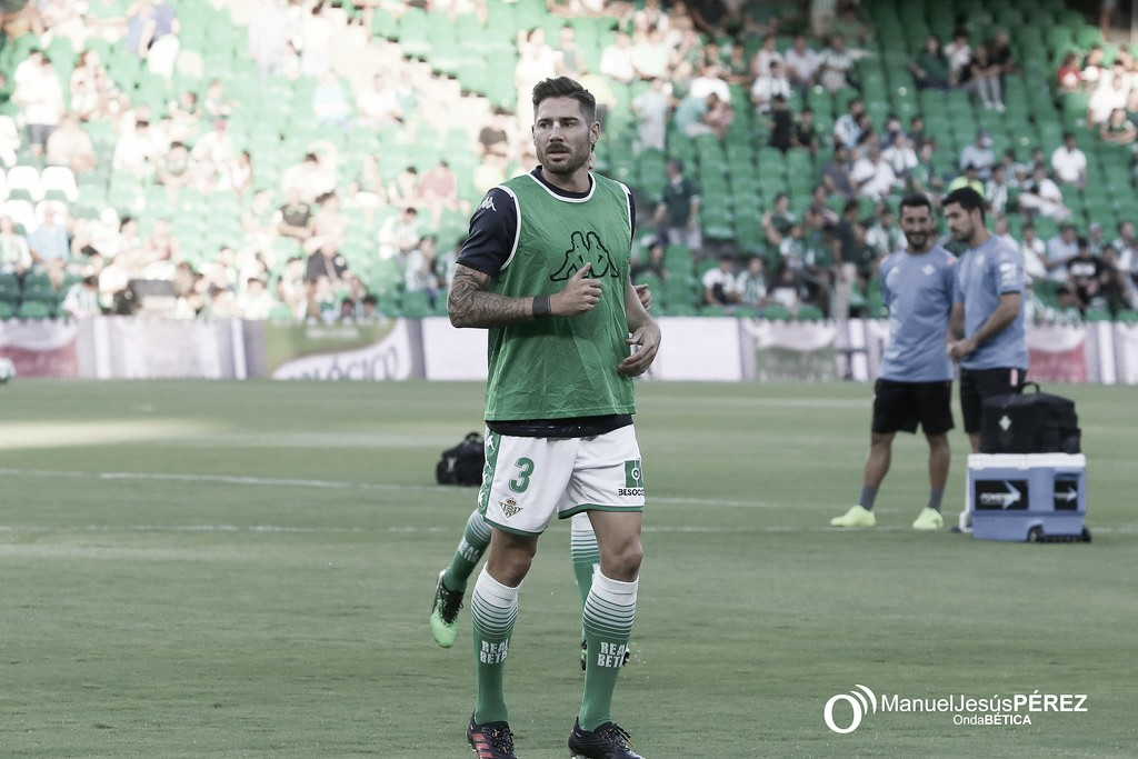 """Javi García habla en nombre del equipo: """"Tenemos que dar un paso adelante"""""""