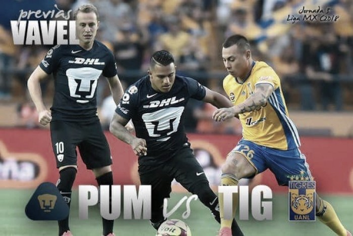 Previa Pumas - Tigres: el liderato se mantiene o pierde en CU