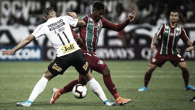 Corinthians e Fluminense empatam na ida de Sul-Americana