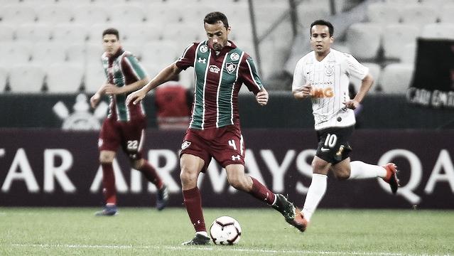 "Nenê analisa resultado como positivo para o Fluminense: ""Vamosdecidir na nossa casa"""