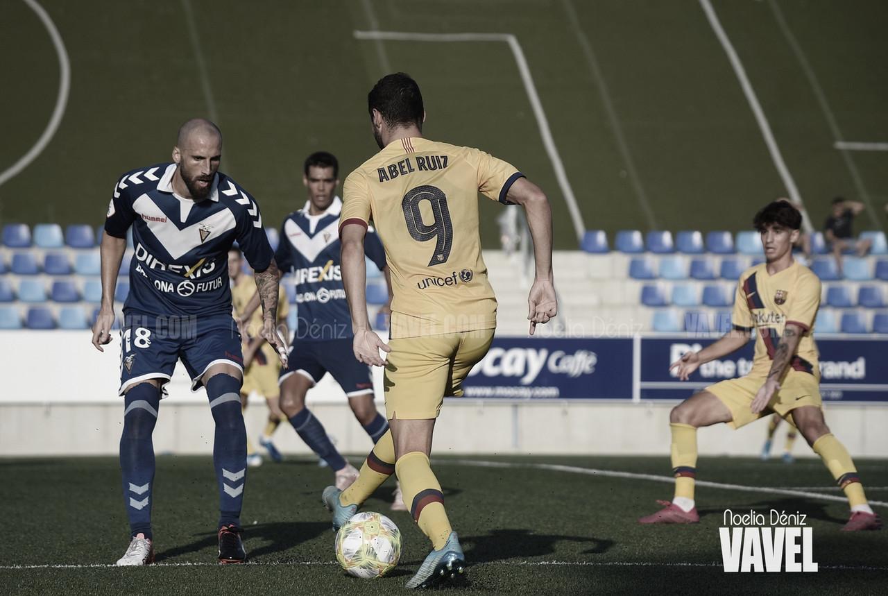 Resumen Barça B vs. Badalona en Segunda División B Grupo 3 (2-1)