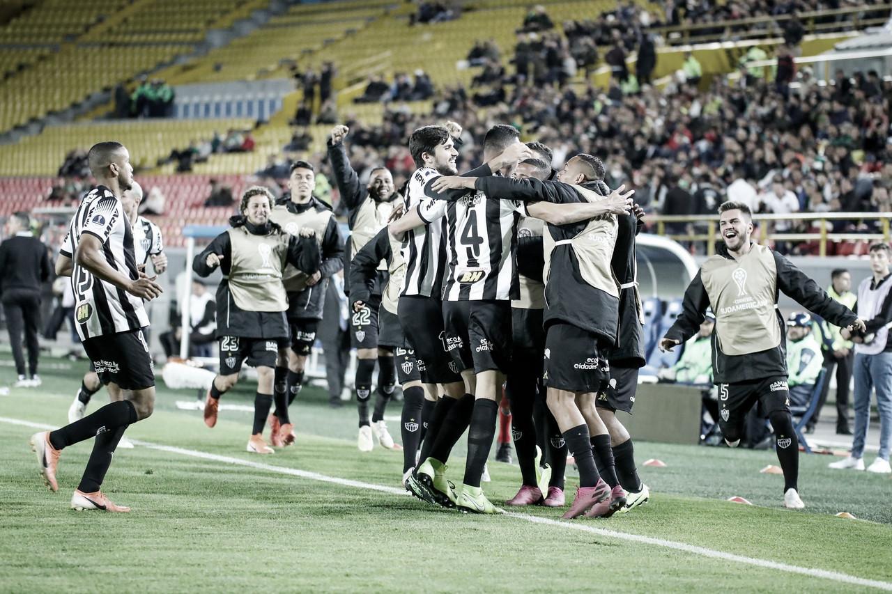 Atlético-MG volta vencerLa Equidad e carimba vaga às semifinais da Sul-Americana