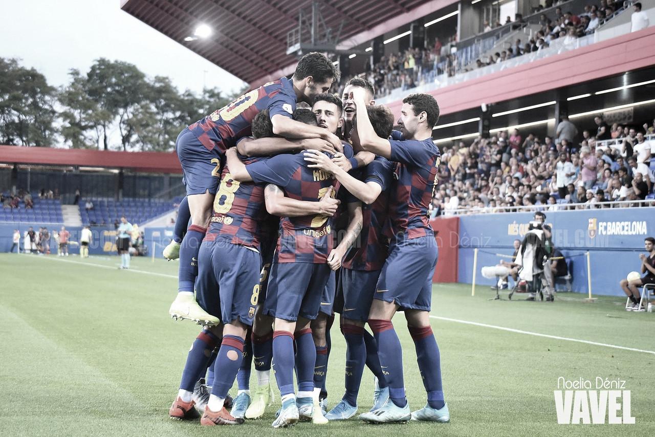 Horario confirmado para el FC Barcelona B - AE Prat