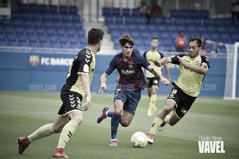 Resumen Barcelona B vs. Gimnàstic de Tarragona (1-0)