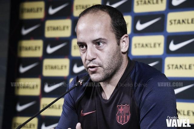 """Lluís Cortés: """"Ha sido clave empatar pronto después de su gol"""""""