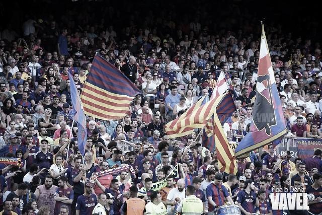 El Camp Nou, fortín en Europa