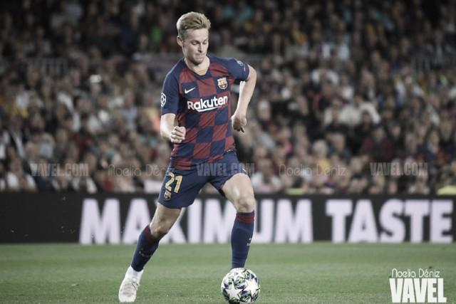 De Jong, arquitecto de un Barça con carencias