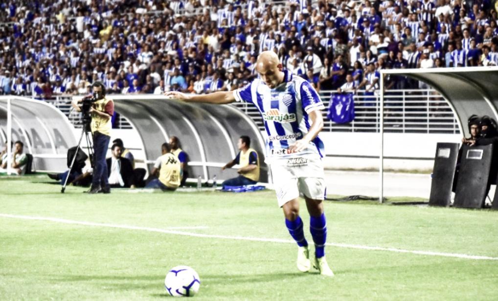 """Herói do CSA, Carlinhos comenta gol: """"Jogada característica minha"""""""