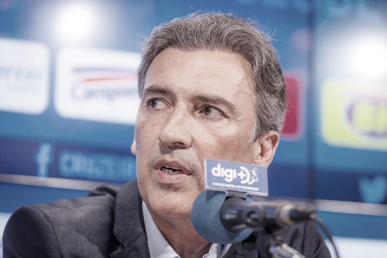 Djian afirma respaldo a Ceni e que atletas estão 'empenhados' em tirar Cruzeiro da crise