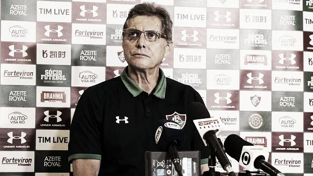 """Apesar da derrota, Oswaldo garante recuperação do Fluminense: """"Vamos melhorar"""""""