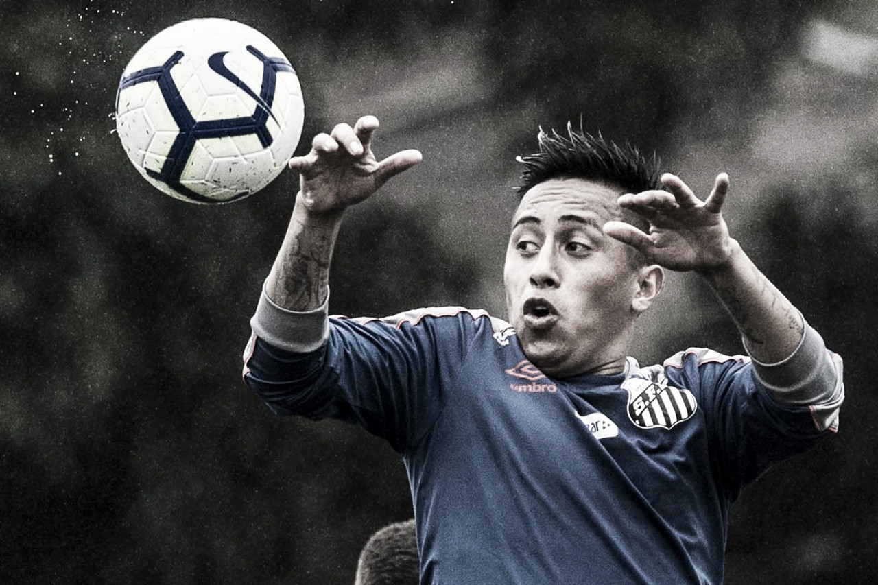 Cueva volta a ser relacionado por Sampaoli e pode enfrentar o Flamengo