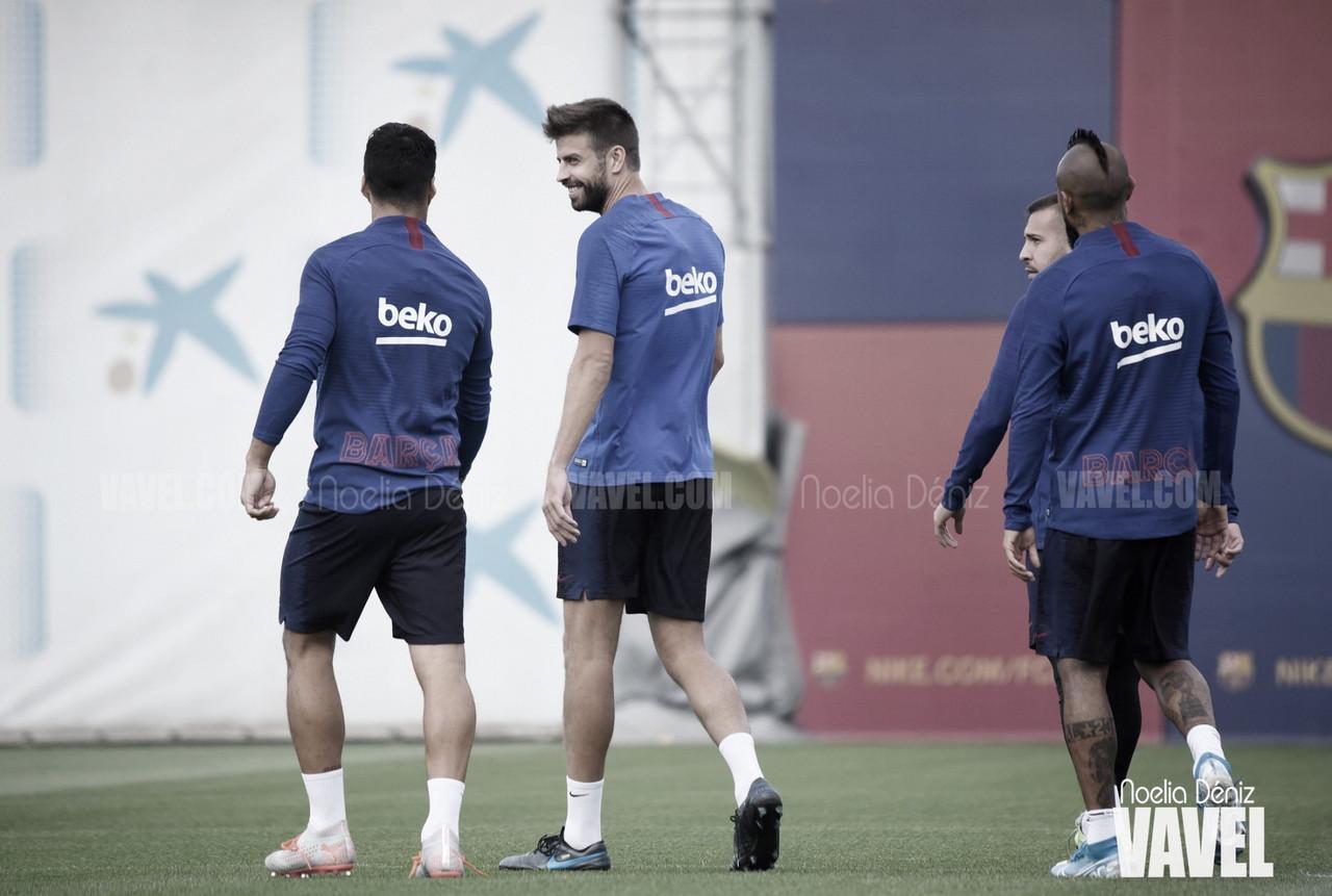 El FC Barcelona sigue poniéndose a tono con un Suárez lanzado