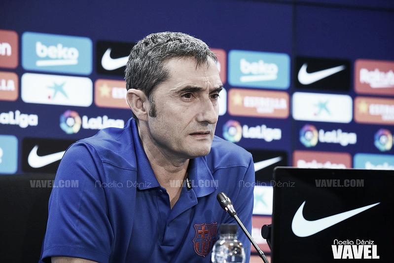 """Ernesto Valverde: """"El Eibar complica la vida a cualquier equipo"""""""