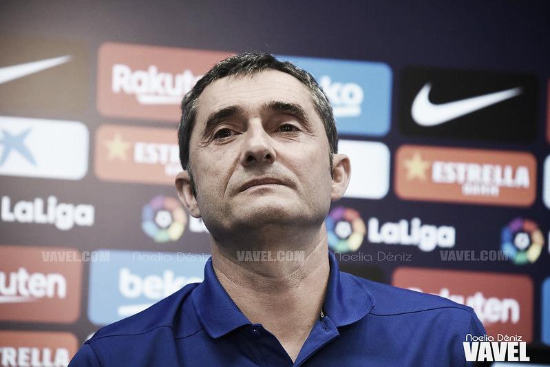 """Ernesto Valverde: """"Tenemos necesidad de una victoria"""""""