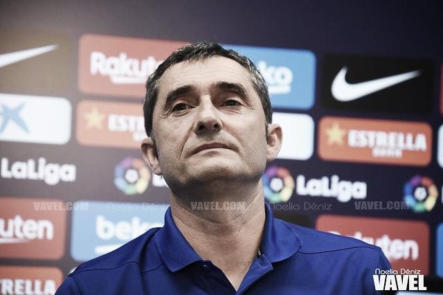 """Ernesto Valverde: """"Tenemos mucha ilusión por esta competición"""""""