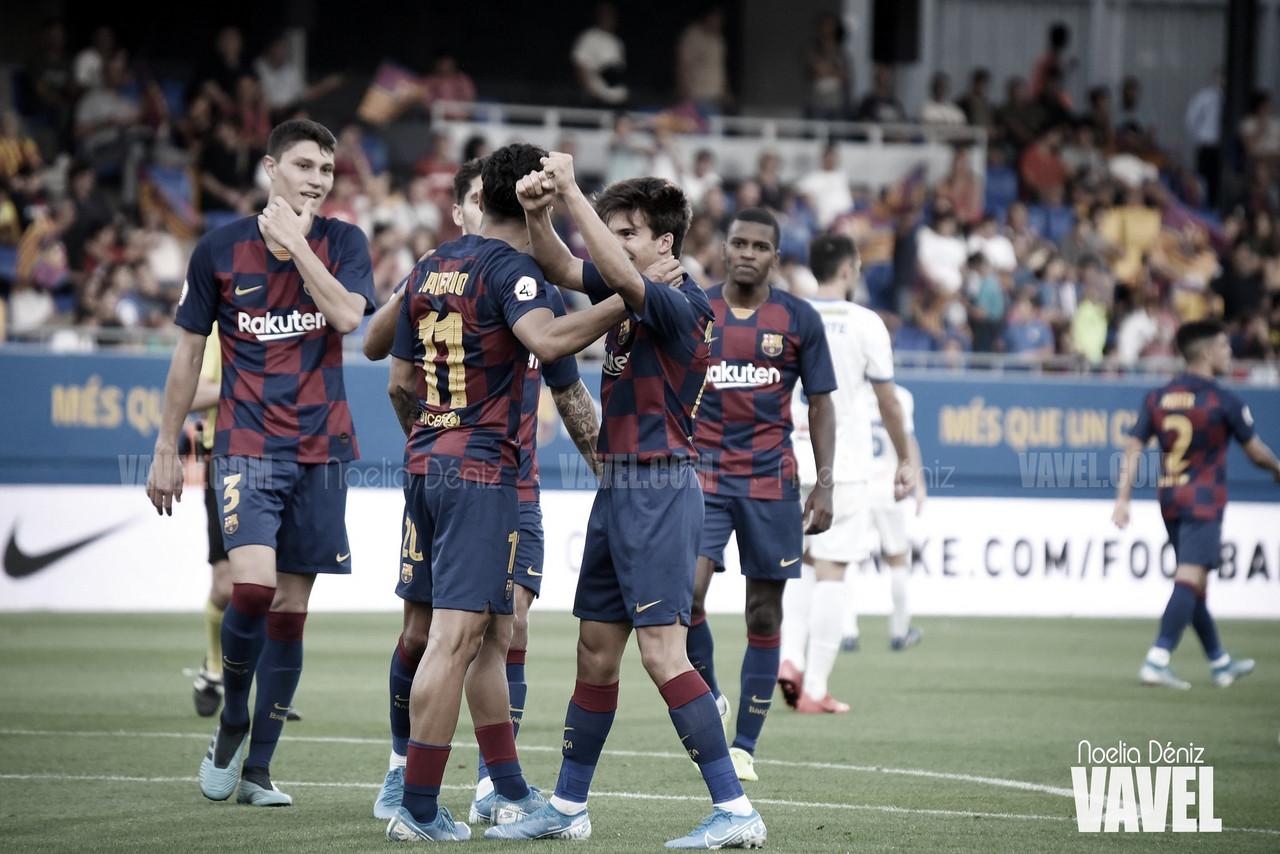 Victoria clave del Barça B en casa del líder (0-1)