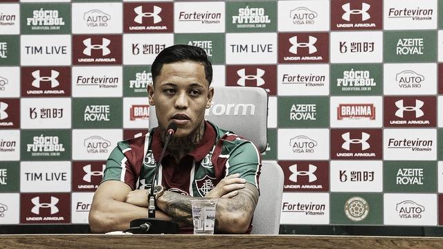 """Orinho comemora chegada ao Fluminense: """"Estou feliz e vou para cima"""""""
