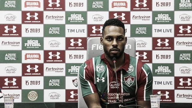 """Luccas Claro traça objetivo no Fluminense: """"Livrar o clube do rebaixamento"""""""