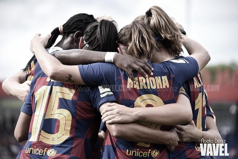 El Barça Femení rompe la telaraña y sella el billete a la semifinal