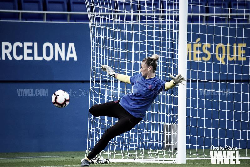 """Sandra Paños: """"El nivel de la Champions League es un pelín mayor al de la Liga"""""""