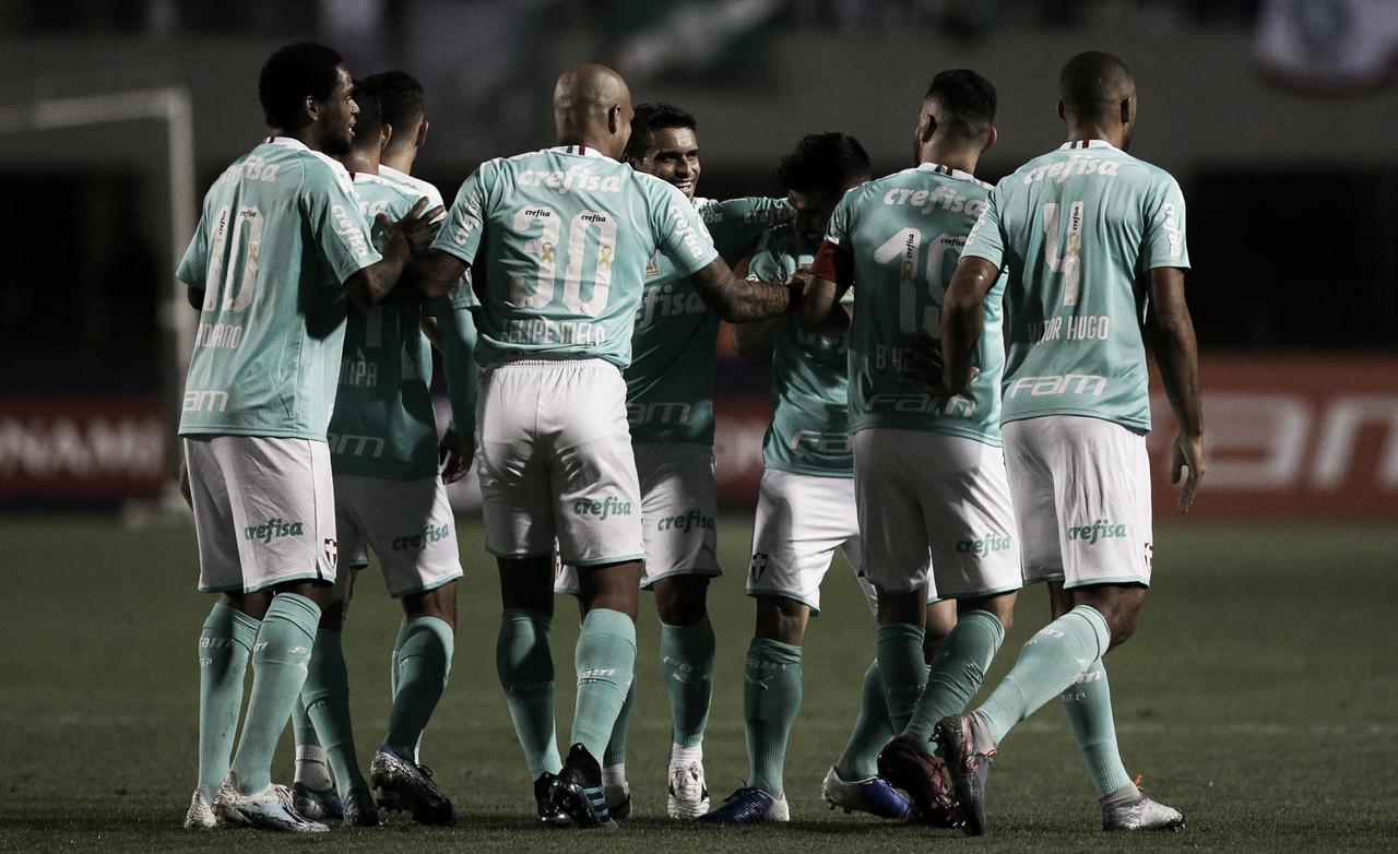 Dominante todo o tempo, Palmeiras goleia CSA e emenda quinta vitória seguida