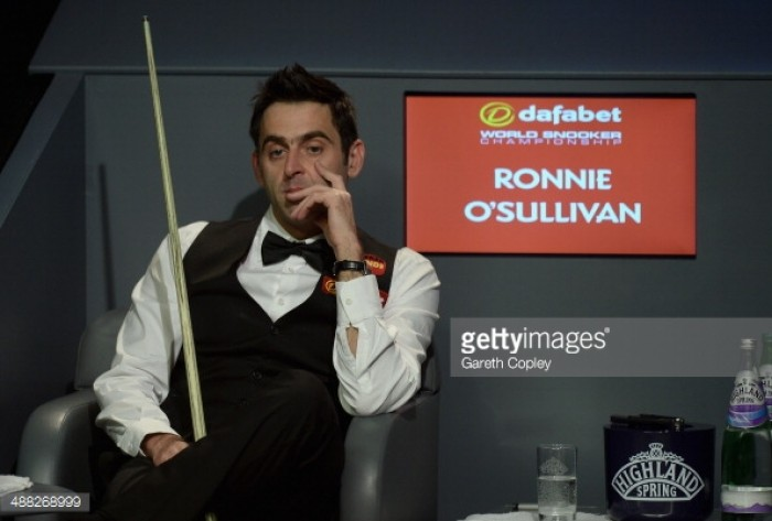 "Ronnie O'Sullivan: ""Finding the time to play in events at the highest level is proving very difficult"""