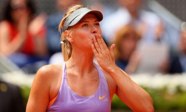 Wta Madrid: un'ottima Sharapova ferma la Stosur, fuori Errani e Vinci
