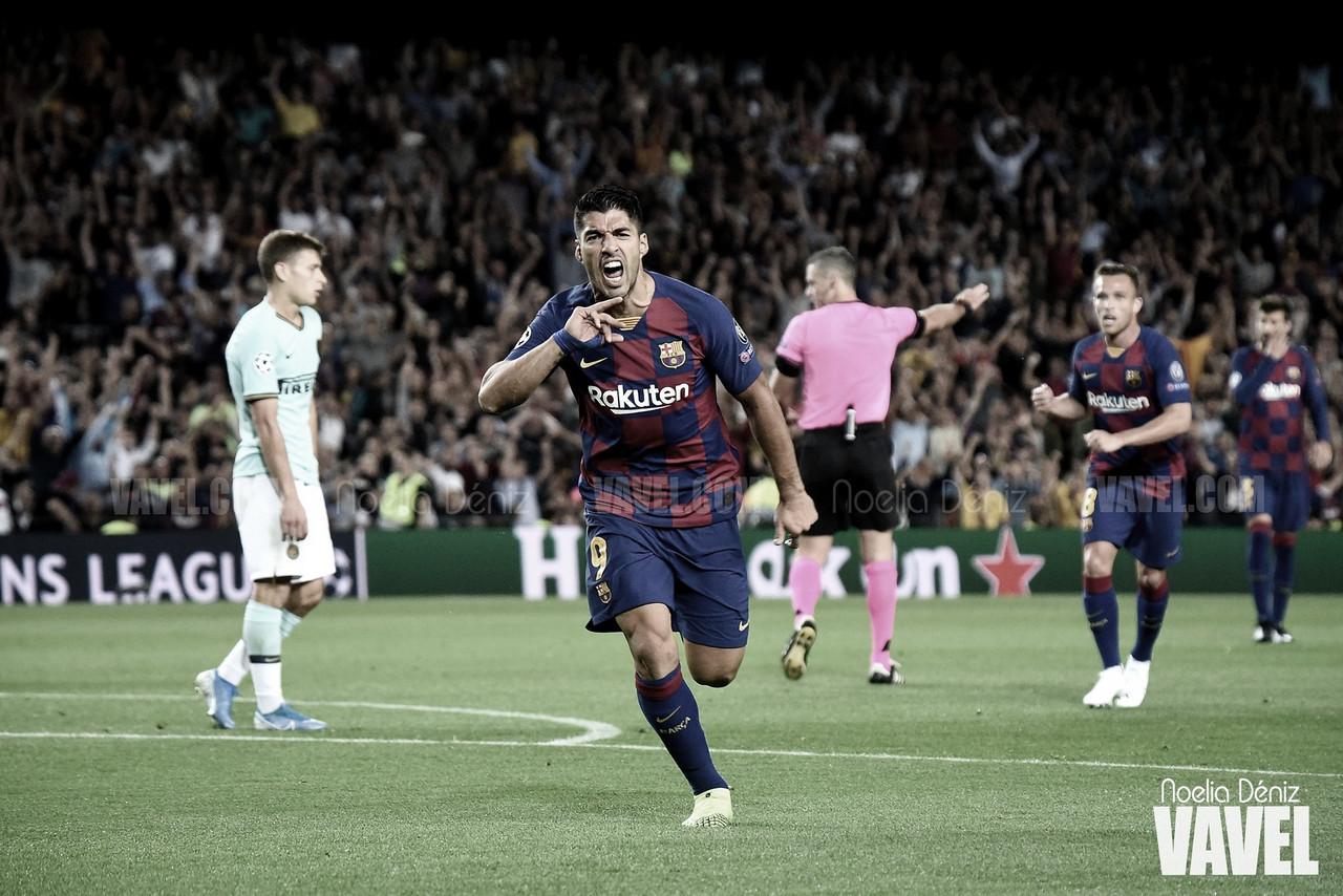 Suárez iguala a Kubala como tercer máximo goleador del FC Barcelona