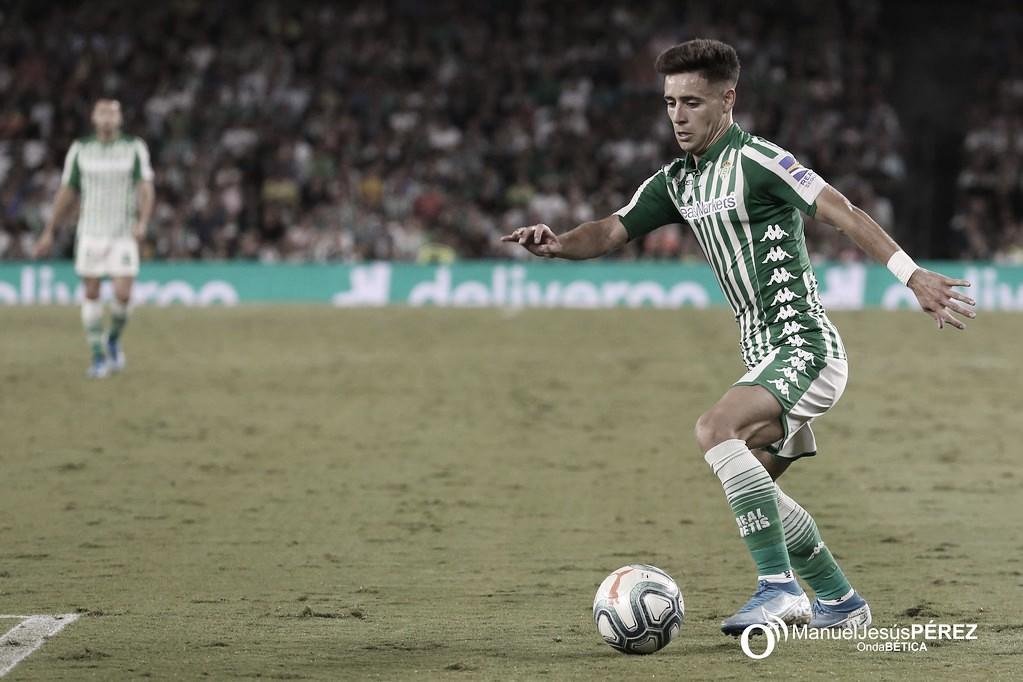 """Álex Moreno: """"Estoy hecho para arriesgar y aprovechar el uno contra uno o dos contra uno"""""""