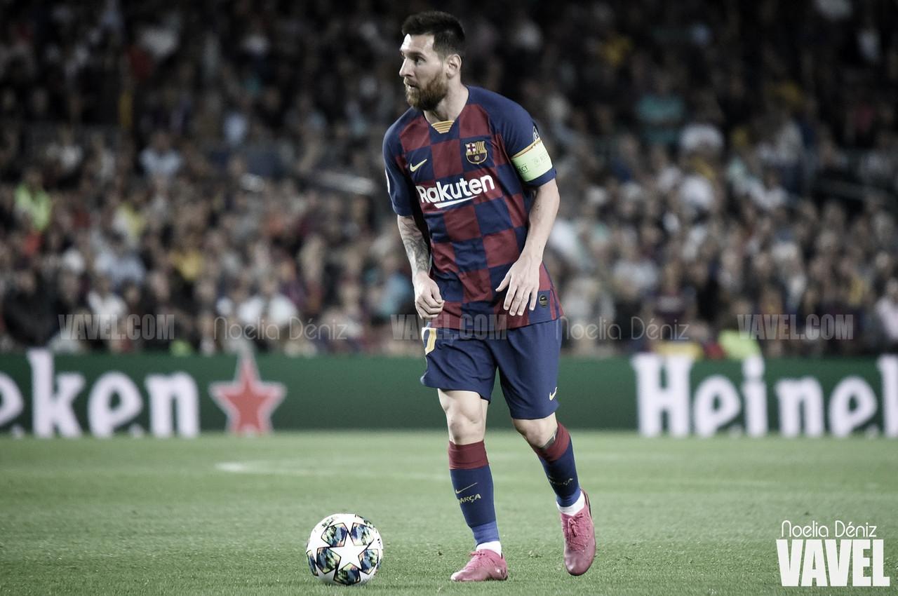 """Leo Messi: """"Hicimos 80 minutos muy buenos para irnos hoy perdiendo este partido"""""""