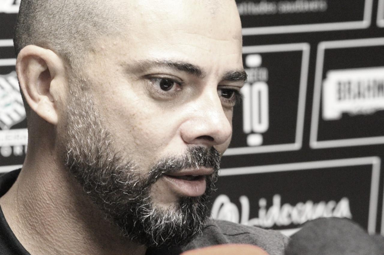 Ao encerra jejum de quase 20 jogos, Márcio celebra 'importante' vitória do Figueira