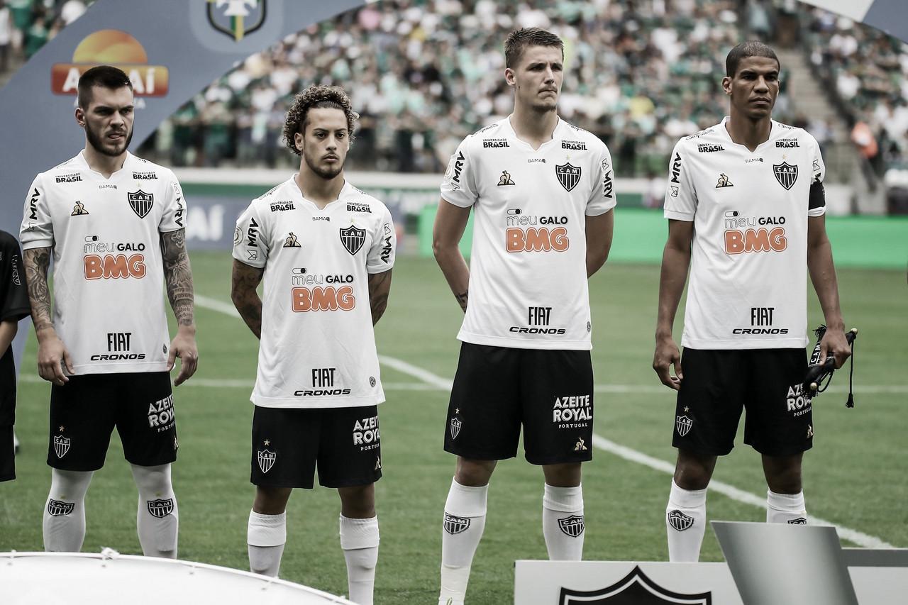 Análise: Atlético-MG vive esquema com três zagueiros para superar grandes adversários