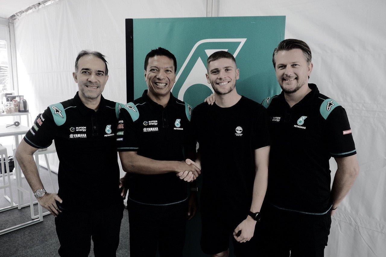 Jake Dixon firma con Petronas Sprinta Racing en Moto2 para 2020