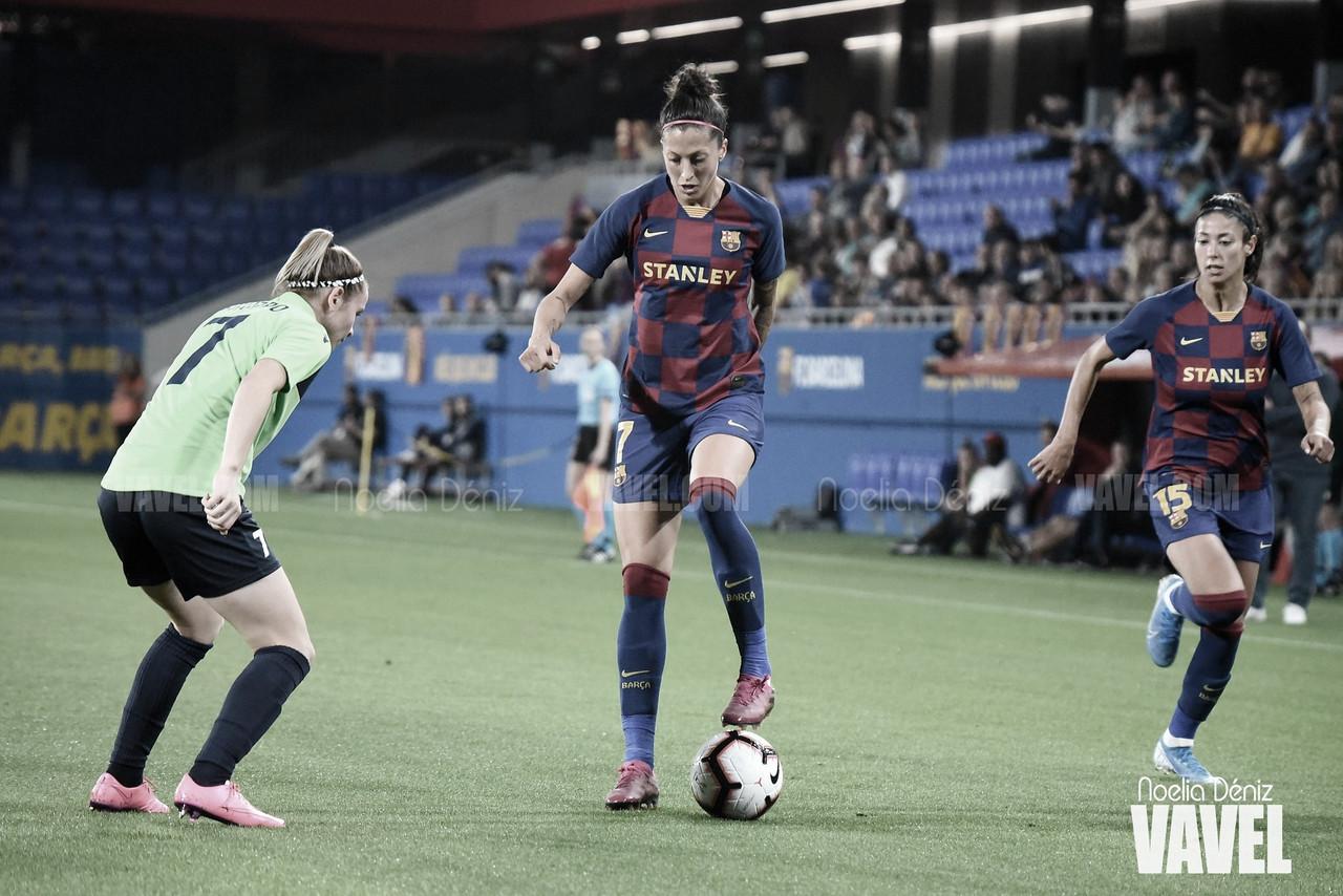 FC Barcelona femenino vs Logroño en vivo y en directo online en la Primera Iberdrola