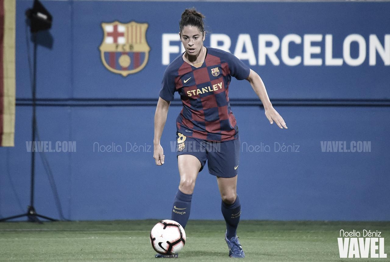 Marta Torrejón renueva con el Barça hasta 2022