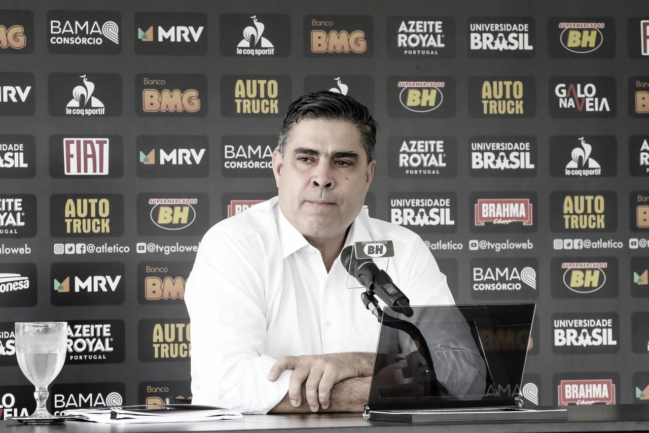 Com problemas financeiros, presidente do Atlético-MG almeja elenco mais jovem em 2020