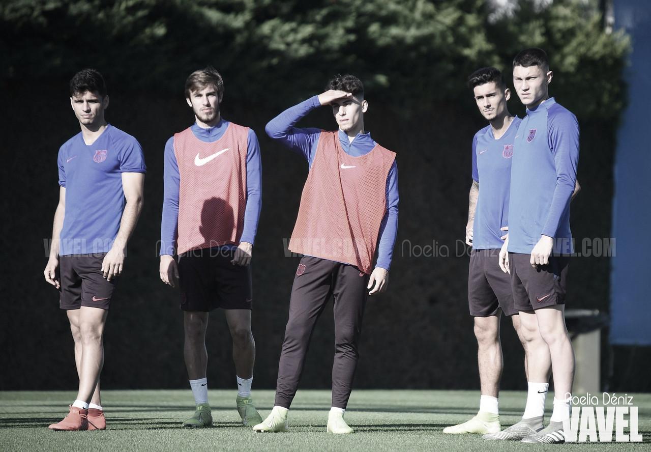 El Barça B vuelve a los entrenamientos