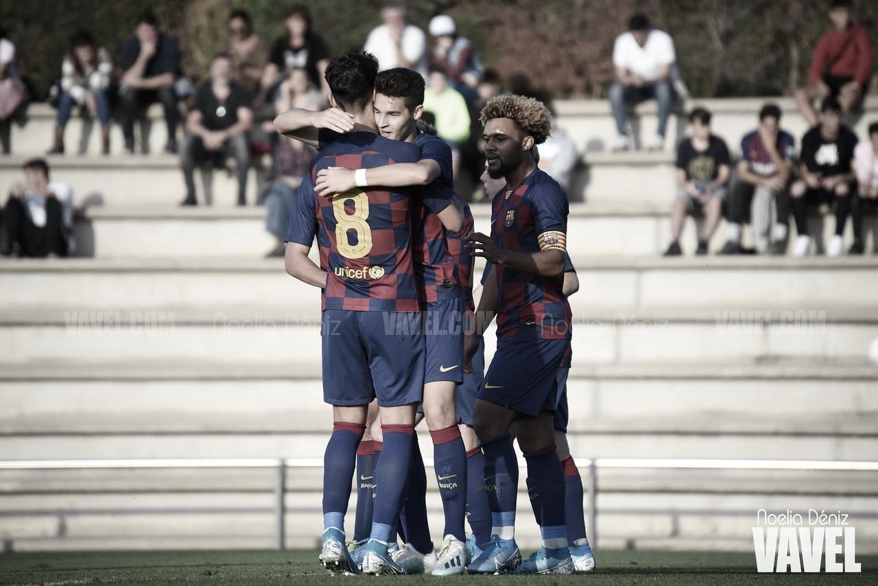 Los juveniles del Barça realizan los exámenes médicos