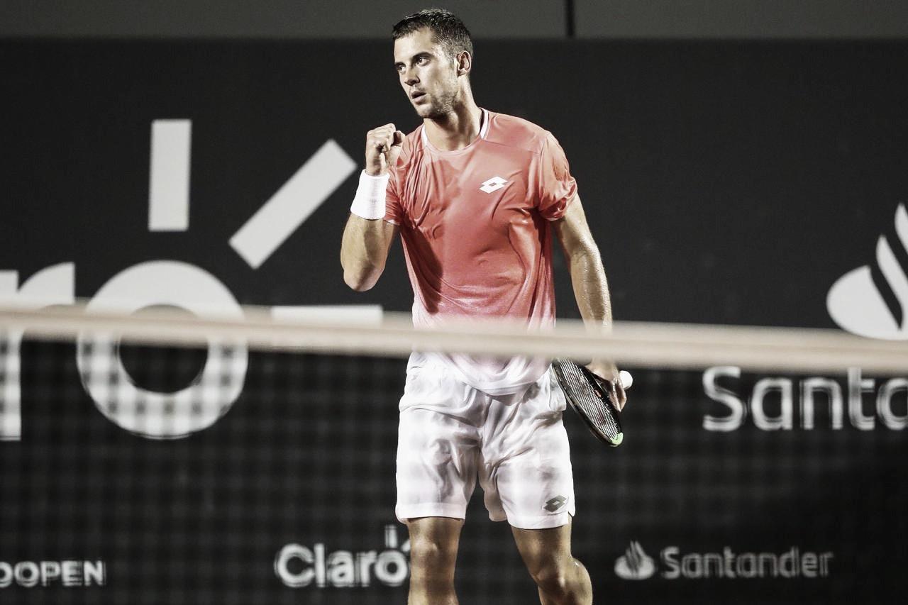 Atual campeão, Laslo Djere está fora do Rio Open por lesão